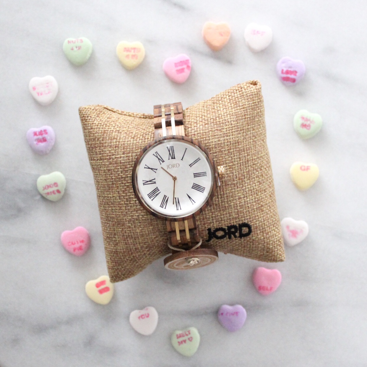 Wood women's watch